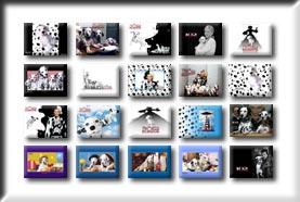 Click to go to the 102 Dalmatian wallpaper section
