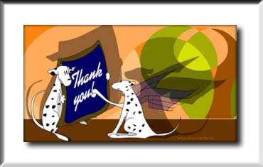 Click to send this cute thank you card!